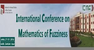 فراخوان مقاله کنفرانس بینالمللی ریاضیات فازی، اردیبهشت ۹۵، دانشگاه تحصیلات تکمیلی علوم پایه زنجان